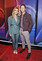 NEW YORK, NY - MAY 09: Melissa Roxburgh and Josh Dallas  attends the 2019/2020 NBC Upfront presentation at the    Fourr Seasons Hotel on May 13, 2019in New York City.  <br /> CAP/MPI/JP<br /> ©JP/MPI/Capital Pictures