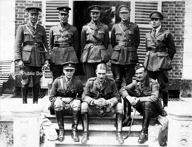 The Western front<br /> Description<br /> <br /> Group of Canadian Forestry Officers