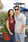 "General Hospital Lindsey Morgan ""Cristina Corinthos-Davis"" and Erik Valdez ""Trey"" at SoapFest's Celebrity Weekend - Cruisin' and Schmoozin' on the Marco Island Princess - mix and mingle and watching dolphins - autographs, photos, live auction raising money for kids on November 11, 2012 Marco Island, Florida. (Photo by Sue Coflin/Max Photos)"