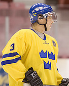 Tobias Viklund (MODO Hockey) The US Blue team lost to Sweden 3-2 in a shootout as part of the 2005 Summer Hockey Challenge at the National Junior (U-20) Evaluation Camp in the 1980 rink at Lake Placid, NY on Saturday, August 13, 2005.