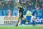 Stockholm 2014-04-16 Fotboll Allsvenskan Djurg&aring;rdens IF - AIK :  <br /> AIK:s Eero Markkanen jublar efter att ha gjort 3-0<br /> (Foto: Kenta J&ouml;nsson) Nyckelord:  Djurg&aring;rden DIF Tele2 Arena AIK jubel gl&auml;dje lycka glad happy