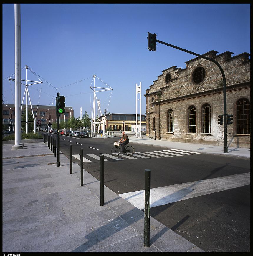 La nuova città di Torino, completata per le olimpiadi del 2006. La Spina 2 e l'area delle OGR.