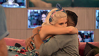 Ashley James and Ginuwine.<br /> Celebrity Big Brother 2018 - Day 8<br /> *Editorial Use Only*<br /> CAP/KFS<br /> Image supplied by Capital Pictures