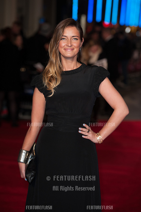Fran Newman Young arriving for the UK Premiere of Jack Ryan, at Vue Leicester Square, London. 20/01/2014 Picture by: Dave Norton/ Featureflash