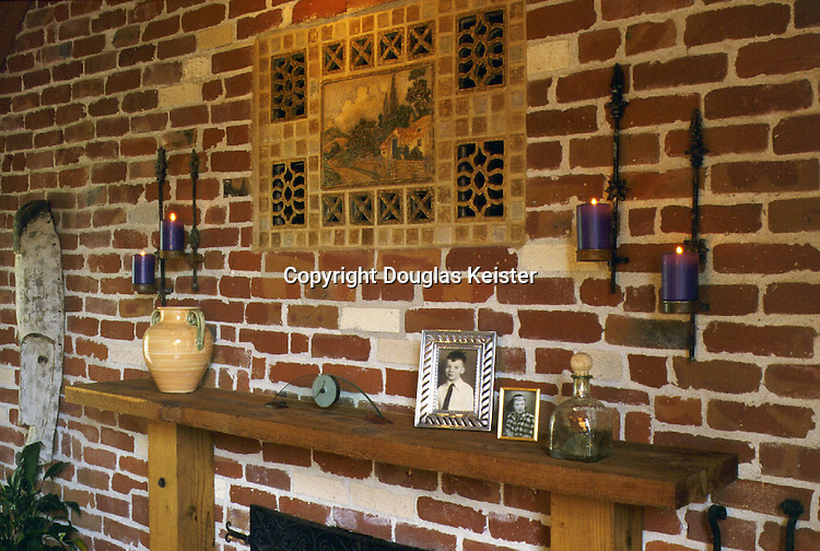 Oakland California<br />Fireplace Mantle