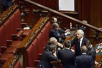Roma, 19 Aprile 2013.Camera dei Deputati.Votazione del Presidente della Repubblica a camere riunite.Quarto Scrutinio, Pier Ferdinando Casini