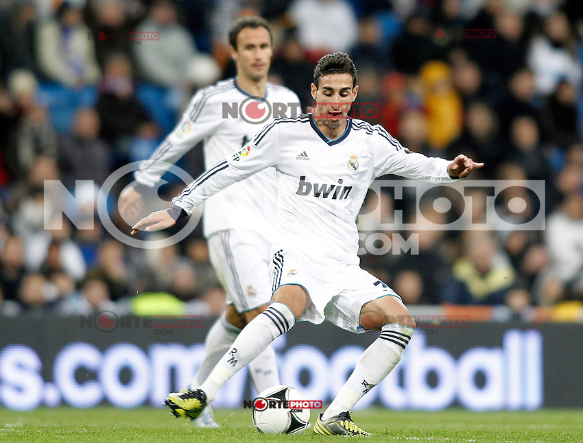 Real Madrid's Jose Rodriguez during Spanish King's Cup match.November 27,2012. (ALTERPHOTOS/Acero) /NortePhotoMx