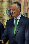 03.10.2012. VIII COTEC Europe Meeting, co-chaired by King Juan Carlos of Spain, the President of the Italian Republic, Giorgio Napolitano, and the President of the Portuguese Republic, Aníbal Cavaco Silva, at the Royal Palace of El Pardo, Madrid, Spain. In the image Aníbal Cavaco Silva  (Alterphotos/Marta Gonzalez)