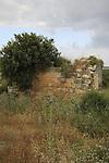 Israel, Upper Galilee. Hurbat Manot