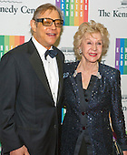 Michael York and his wife, Pat, arrive for the formal Artist's Dinner honoring the recipients of the 2013 Kennedy Center Honors hosted by United States Secretary of State John F. Kerry at the U.S. Department of State in Washington, D.C. on Saturday, December 7, 2013. The 2013 honorees are: opera singer Martina Arroyo; pianist,  keyboardist, bandleader and composer Herbie Hancock; pianist, singer and songwriter Billy Joel; actress Shirley MacLaine; and musician and songwriter Carlos Santana.<br /> Credit: Ron Sachs / CNP