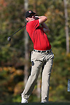 31 October 2016: NC State University's Chad Cox. The Third Round of the 2016 Bridgestone Golf Collegiate NCAA Men's Golf Tournament hosted by the University of North Carolina Greensboro Spartans was held on the West Course at the Grandover Resort in Greensboro, North Carolina.