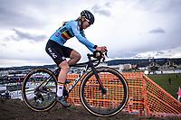 Laura Verdonschot (BEL)<br /> <br /> Women's Elite Race<br /> UCI 2020 Cyclocross World Championships<br /> Dübendorf / Switzerland<br /> <br /> ©kramon