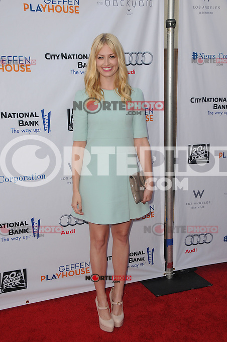Beth Behrs at the 'Backstage at The Geffen Fundraiser honoring Carol Burnett and Jim Gianopulos at the Geffen Playhouse in Los Angeles, California. June 4, 2012. © mpi35/MediaPunch Inc.  ***NO GERMANY***NO AUSTRIA***