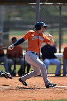 Houston Astros Ryan Bottger (90) during a minor league spring training game against the Atlanta Braves on March 29, 2015 at the Osceola County Stadium Complex in Kissimmee, Florida.  (Mike Janes/Four Seam Images)