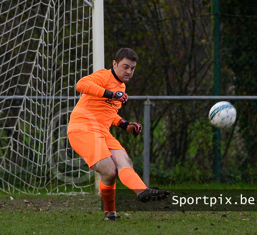 FC Moerkerke  : Kristof Vanpoucke <br /> Foto VDB / Bart Vandenbroucke