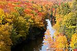 Autumn, Dead River, Marquette County, MI