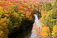 Autumn, Dead River, Marquette County, MI
