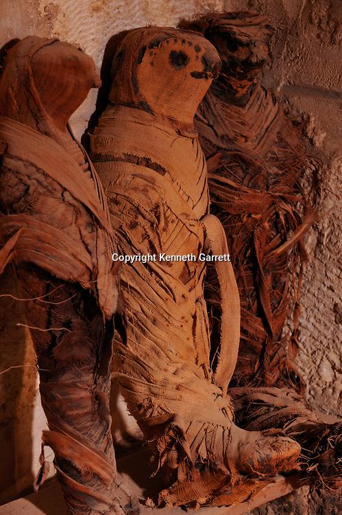 Zahi Hawass Secret Egypt Travel Guide; Egypt; archaeology; El Minya; Tuna el Gebel; Animal Mummies; Tombs; Catacombs, Late Period, falcons, baboons, ibises