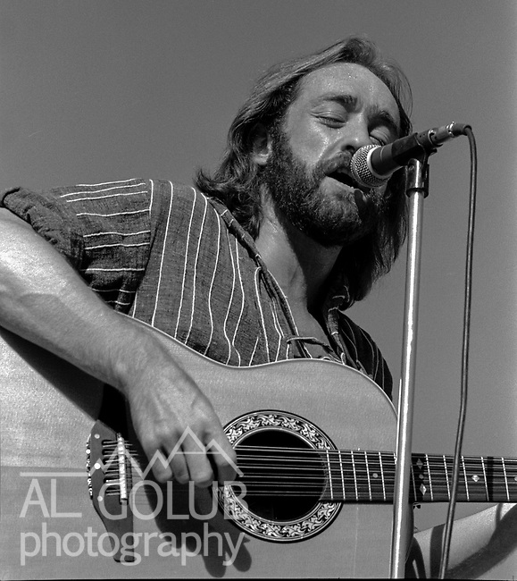The first Mountain Aire Renaissance Faire and Music Festival featuring Dave Mason, Elvin Bishop, Livingston Taylor and Dan Hicks was presented by Rock'n Chair productions at the Calaveras County Fairgrounds, Angles Camp, California on June 15, 1974.  ( ON Stage Dave Mason )  Images by Al Golub/ Golub Photography