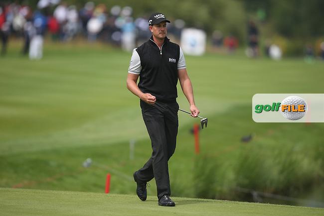 Henrik Stenson (SWE) has just one putt at -19 to win the Final Round of the BMW International Open 2014 from Golf Club Gut Lärchenhof, Pulheim, Köln, Germany. Picture:  David Lloyd / www.golffile.ie