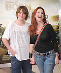 Melissa Gilbert and her son at The Warner Bro. Pictures' World Premiere of Born to be Wild 3d held at The California Science Center in Los Angeles, California on April 03,2011                                                                               © 2010 Hollywood Press Agency