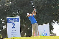 Martin Wiegele (AUT) during the final day of the  Andalucía Masters at Club de Golf Valderrama, Sotogrande, Spain. .Picture Denise Cleary www.golffile.ie