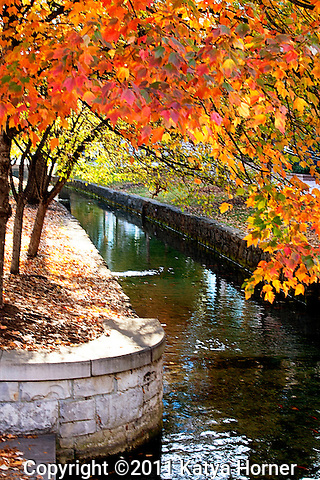 Scenes from Big Spring Park in Huntsville, Alabama.
