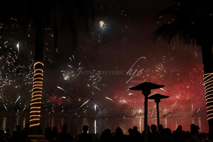 Fireworks display, National Day, Qatar | Dec 10