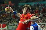 Viran Morros. SPAIN vs SLOVENIA: 26-22 - Semifinal.