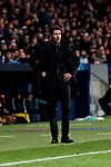 Atletico de Madrid's coach Diego Pablo Simeone during UEFA Champions League match between Atletico de Madrid and AS Monaco at Wanda Metropolitano Stadium in Madrid, Spain. November 28, 2018. (ALTERPHOTOS/A. Perez Meca)