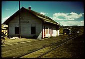Lumberton station.<br /> D&amp;RGW  Lumberton, NM