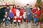 Children at Santa's secret village, in Killarney on Sunday.