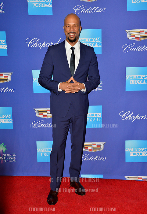 Common at the 2018 Palm Springs Film Festival Awards at Palm Springs Convention Center, USA 02 Jan. 2018<br /> Picture: Paul Smith/Featureflash/SilverHub 0208 004 5359 sales@silverhubmedia.com