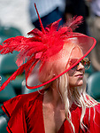 LOUISVILLE, KENTUCKY - MAY 02: Scenes from around the track as the locals come out to Derby it up on the day set aside for local during Kentucky Derby Week at Churchill Downs in Louisville, Kentucky on May 2, 2019. Scott Serio/Eclipse Sportswire/CSM