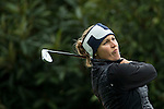 Camilla Lennarth of Sweden tees off at the 2nd hole during Round 1 of the World Ladies Championship 2016 on 10 March 2016 at Mission Hills Olazabal Golf Course in Dongguan, China. Photo by Victor Fraile / Power Sport Images