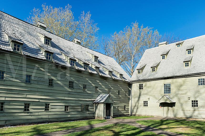 Saal, Sisters House, Ephrata Cloister, Pennsylvania, USA