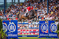 USA-McLain Ward rides Noche de Ronda during the Allianz-Prize Jumping. Final-1st. 2019 GER-CHIO Aachen Weltfest des Pferdesports. Saturday 20 July. Copyright Photo: Libby Law Photography