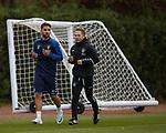 26.10.18 Rangers training: Daniel Candeias