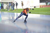 SPEED SKATING: COLLALBO: Arena Ritten, 10-01-2019, ISU European Speed Skating Championships, Antoinette de Jong (NED), ©photo Martin de Jong