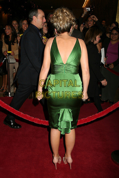 HAYLIE DUFF.The 8th Annual Family Television Awards at the Beverly Hilton Hotel, Beverly Hills, California, USA..November 29th, 2006.full length green dress back behind rear funny satin.CAP/ADM/BP.©Byron Purvis/AdMedia/Capital Pictures