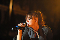 "Singer songwriter Charlyn ""Chan"" Marshall who performs as Cat Power on stage at Terminal 5, NYC"