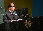 GA 72<br /> High-level meeting of the General Assembly on the appraisal of the United Nations Global Plan of Action to Combat Trafficking in Persons<br /> 25th plenary meeting<br /> <br /> THAILAND