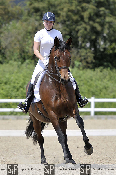 Class 8. Unaffiliated dressage. Brook Farm Training Centre. Essex. 03/06/2018. ~ MANDATORY Credit Garry Bowden/Sportinpictures - NO UNAUTHORISED USE - 07837 394578