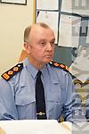GARDAI: Speaking to the media at the Garda Press Conference in Killorglin Garda Station on Monday, Superintendent Pat OSullivan