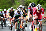 The peleton including Mark Cavendish (GBR) Team Dimension Data in action during Stage 2 of the Tour de Yorkshire 2018 running 149km from Barnsley to Ilkley, England. 4th May 2018.<br /> Picture: ASO/Alex Broadway | Cyclefile<br /> <br /> <br /> All photos usage must carry mandatory copyright credit (&copy; Cyclefile | ASO/Alex Broadway)