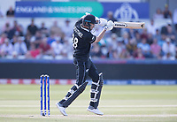 Tim Southee (New Zealand) plays into the off side during England vs New Zealand, ICC World Cup Cricket at The Riverside Ground on 3rd July 2019
