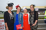 Enjoying Ladies Day at the Listowel Races on Friday were: Ann Sheehy, Sally Ann Walsh, Mary O'Connell and Maura Sheehy from Kilmoyley