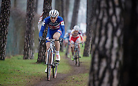 US Champion Jeremy Powers (USA/Rapha-Focus)<br /> <br /> Zolder CX UCI World Cup 2014