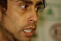 SÃO PAULO, 08 DE MARÇO DE 2013 -COLETIVA VALDIVIA - O jogador Valdivia durante coletiva à imprensa na Academia de Futebol, Barra Funda, zona oeste da capital, na tarde desta sexta-feira(08) - FOTO: LOLA OLIVEIRA/BRAZIL PHOTO PRESS