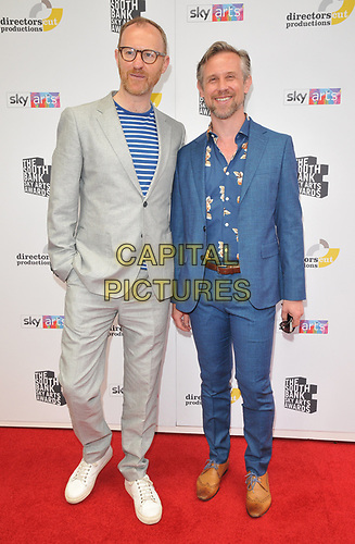 Mark Gatiss and Ian Hallard at the South Bank Sky Arts Awards 2019, The Savoy Hotel, The Strand, London, England, UK, on Sunday 07th July 2019.<br /> CAP/CAN<br /> ©CAN/Capital Pictures